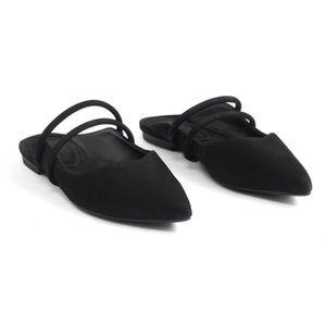 🆕 SCHUTZ Cindreia Pointy Toe Flat Mule Sandals